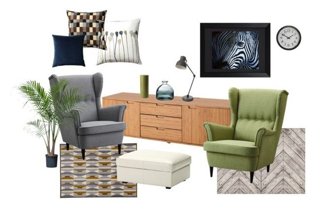 """living room 1"" by daniel-doyle on Polyvore featuring interior, interiors, interior design, home, home decor, interior decorating, Bravur and living room"