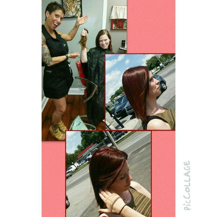 #444ever #studio444 #salon #beauty #creative #beyou #redheads  ( 610 ) 541 - 0444