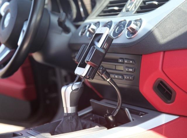 ArktisPRO iPhone 5 Autohalterung mit FM-Transmitter