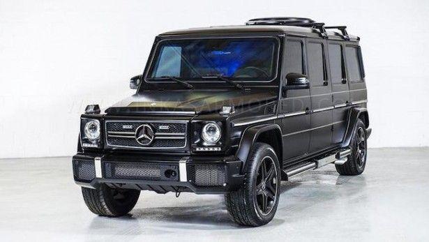 Cars - Mercedes-Benz Classe G 63 AMG Inkas : pour les mafieux ou vendeurs d'armes ! - http://lesvoitures.fr/mercedes-benz-classe-g-63-inkas/