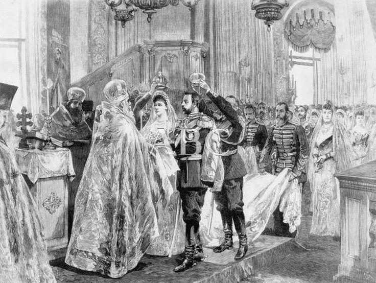 Wedding of Grand Duke Serge and Grand Duchess Elizabeth