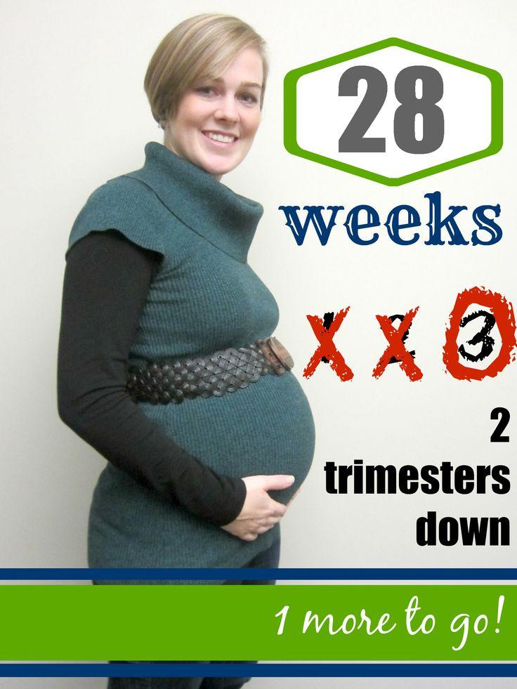 Pregnancy photo progression using Pic Monkey image editing - 28 Weeks/7 months