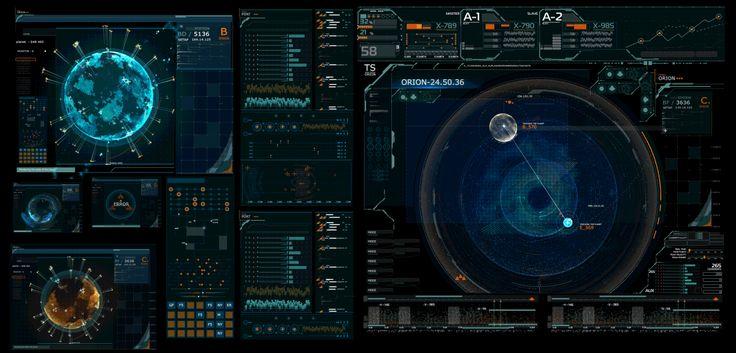 GUI FORTRAILER - MASTER OF ORION on Behance