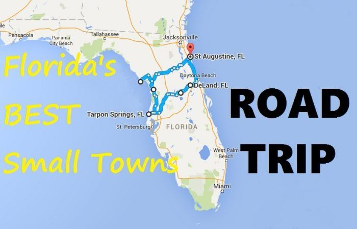 Take This Road Trip Through Florida S Most Picturesque Small Towns For An Unforgettable Experience In 2020 Road Trip Trip Florida Travel