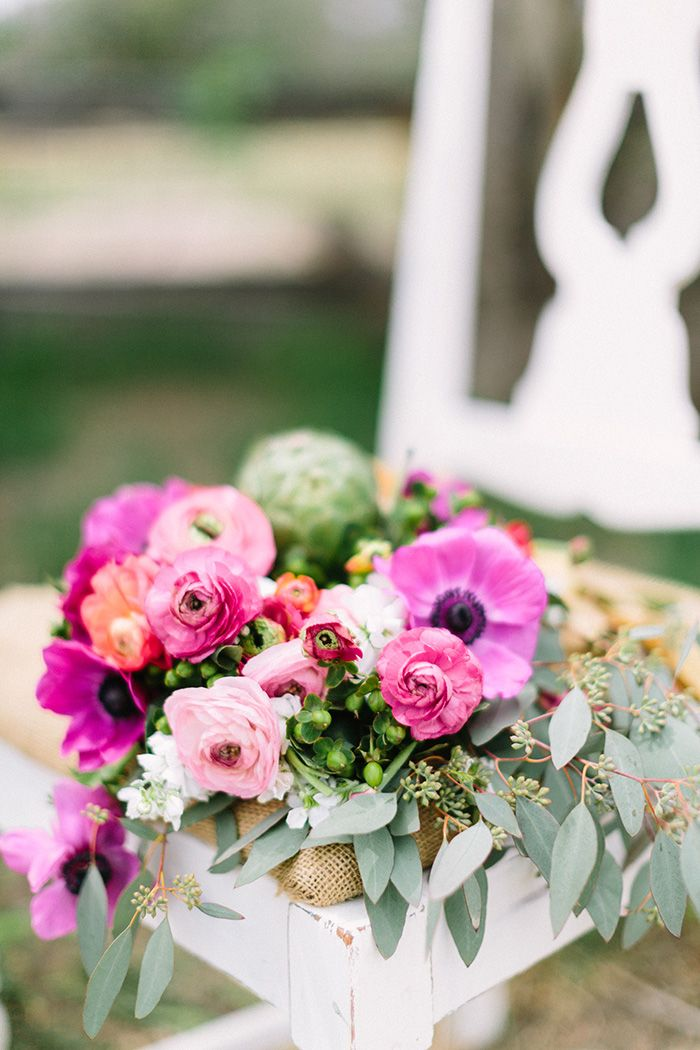 Bright Pink Flowers Bouquet Best Wedding