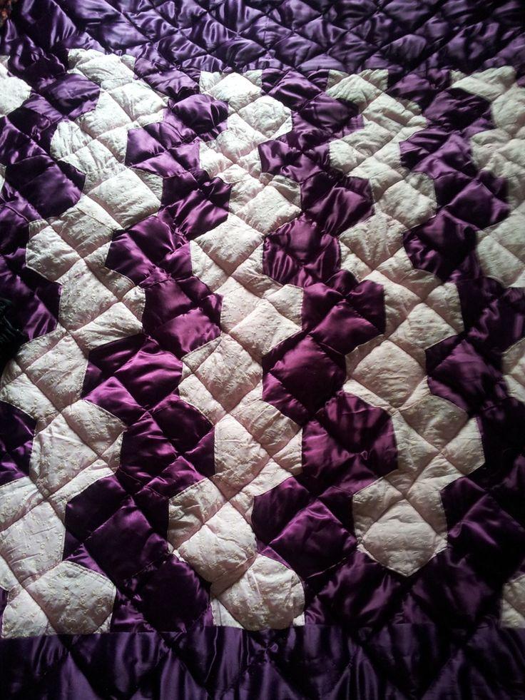 a handmade quilt