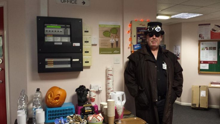Our hero of a House Manager - Jeff at Stephenson Building