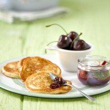 Ontbijt, Pannenkoeken met ei en havervlokken, 6p
