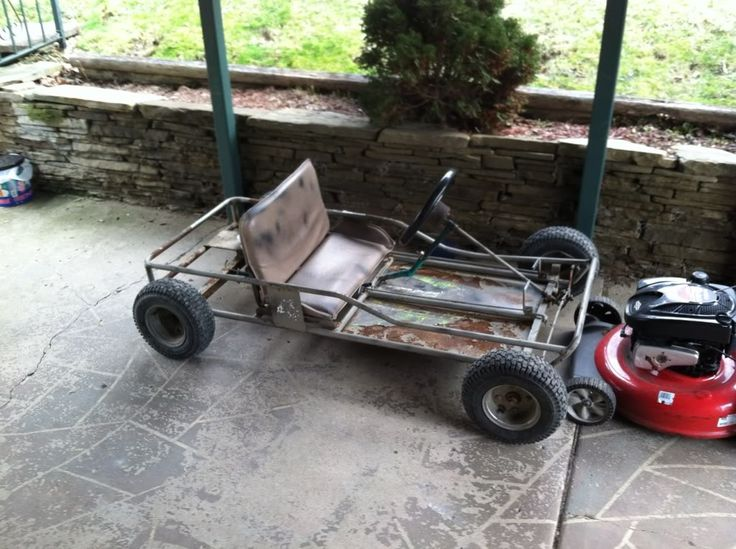 Bought a 2 seater go kart frame when I was a kid for $26 and then bought an old 10 hp generator engine for $10 at a garage sale. Didn't look like much but the thing flew!