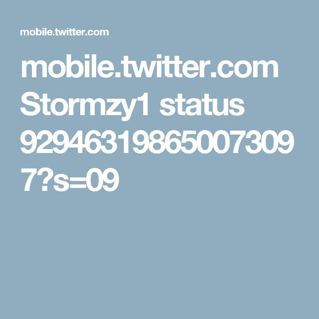 mobile.twitter.com Stormzy1 status 929463198650073097?s=09