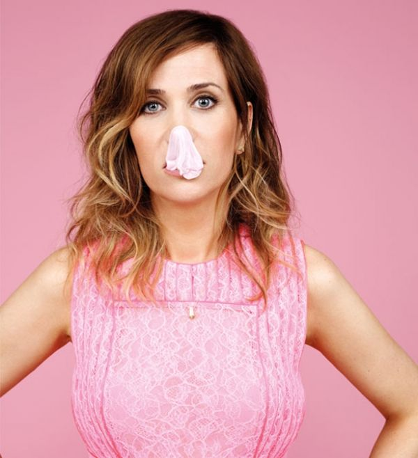 Campbell is a bit goofy. She's most comfortable when she can let out her quirky side. Kristin Wiig is a favorite.