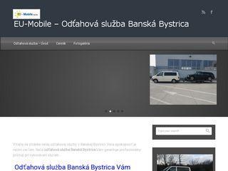 Odťahová služba Banská Bystrica