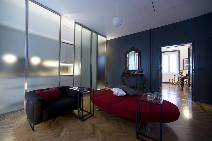 Living Room 1 House Via Lunigiana