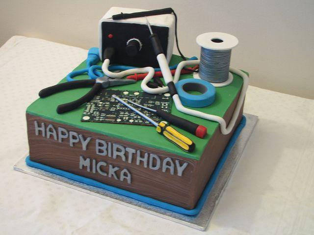 Best Geek Birthday Cake Sweet Moments Of Life