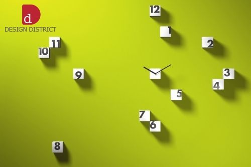 Nástěnné hodiny RND_TIME bílé, Progetti