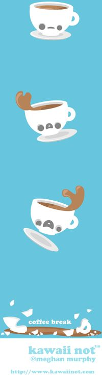 Coffee Break (Kawaii Not Comic)
