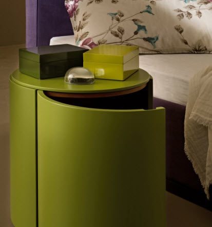 contemporary bed-side table TOP by Ludovica+Roberto Palomba LEMA Home