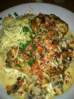 Romano's Macaroni Grill Copycat Recipes: Chicken Scallopine My favorite!! ( just add asparagus)