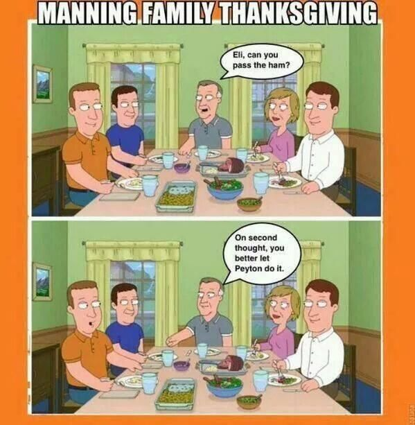 Manning Family Thanksgiving thanksgiving thanksgiving pictures thanksgiving images thanksgiving memes thanksgiving meme thanksgiving facebook memes thanksgiving images for facebook thanksgiving facebook meme