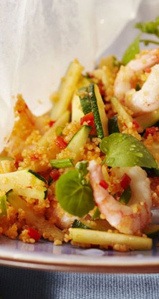 Prawn and Couscous Risotto