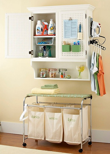 find this pin and more on laundry room ideas - Laundry Storage Ideas