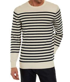 Fairhaven Striped Crew