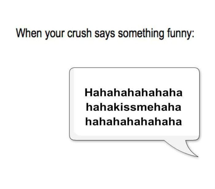Clearly agree, funny texts to send to your crush