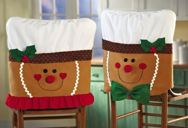 Capa Natalina para cadeira