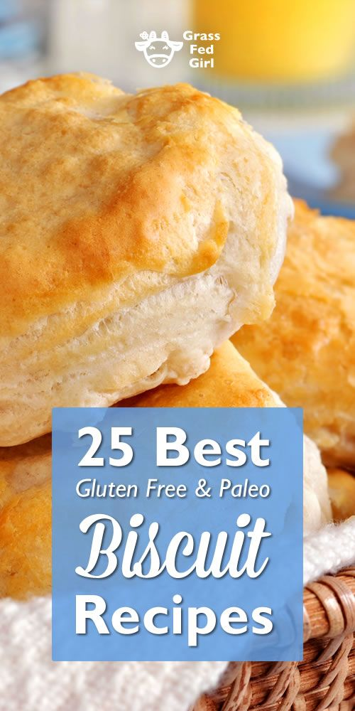 25 Best Gluten Free and Paleo Biscuit Recipes | http://www.grassfedgirl.com/25-paleo-and-gluten-free-biscuit-recipes/