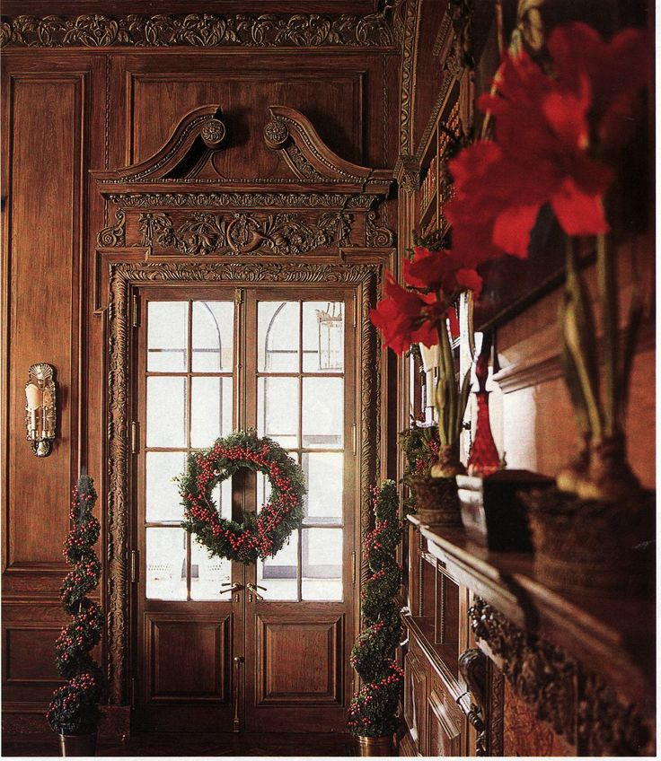 In 2005 Legendary Designer Dan Carithers Decked The Halls At Swan House