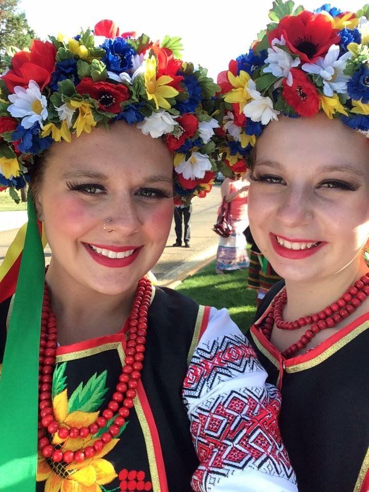 Ukrainian Dancers from Zirka Ukrainian Dance Ensemble from Dauphin, Manitoba, Canada