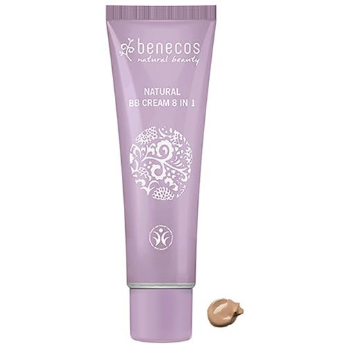 Benecos BB Cream 8 in 1 with colour swatch detail