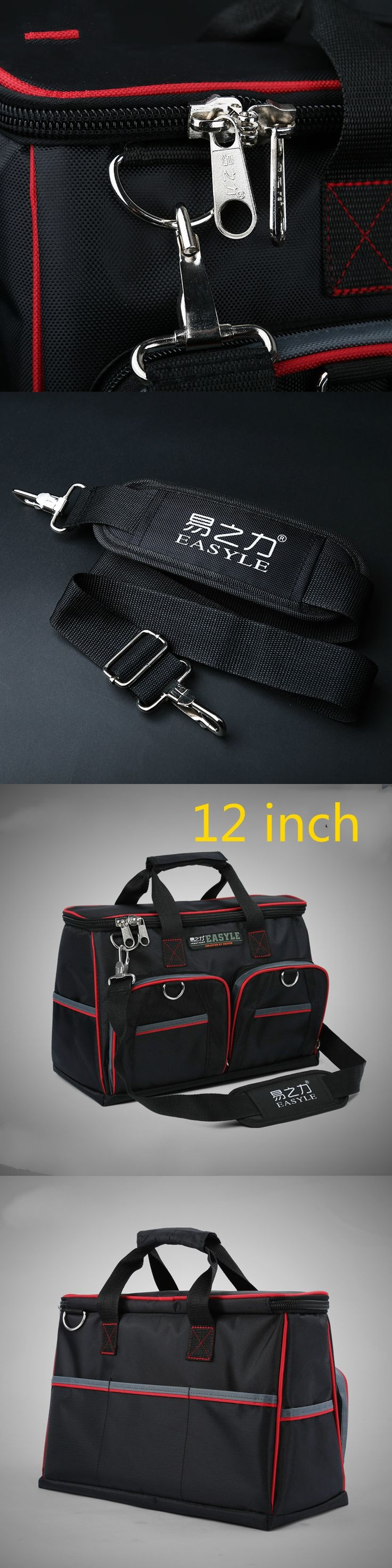 12 Inch Appliances Electrical Repair Bag After Sales Tool Bag Oxford Cloth Double Canvas Thickening Tool Kit