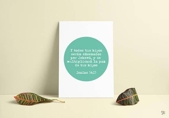 Children's Blessing-Bendicion para sus hijos-Isaiah Isaias