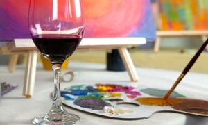 17 best ideas about sip n paint on pinterest painting for Groupon wine and paint