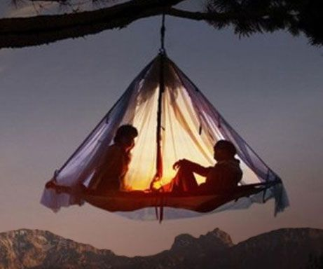 Best 25 hanging tent ideas on pinterest suspended tent for Tent platform design
