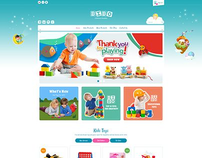 """Check out new work on my @Behance portfolio: """"Bibo - Baby & Kids Ecommerce Templates"""" http://be.net/gallery/53932395/Bibo-Baby-Kids-Ecommerce-Templates"""