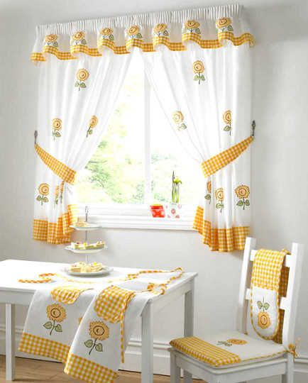 Modelos de cortinas para tu cocina, ¡escoge tu favorito! | Cocina - Decora Ilumina
