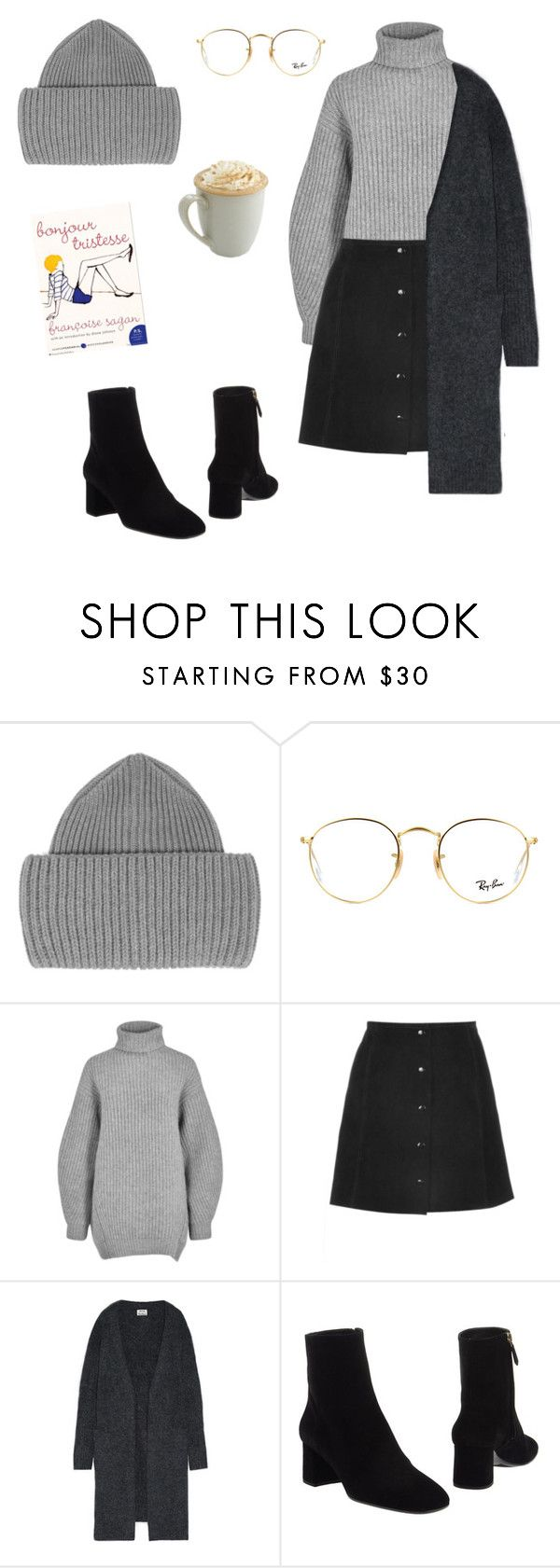 """you are above jealousy. stop envying others and start claiming what you want"" by bsxis ❤ liked on Polyvore featuring STELLA McCARTNEY, Ray-Ban, Acne Studios, Dulce and Prada"