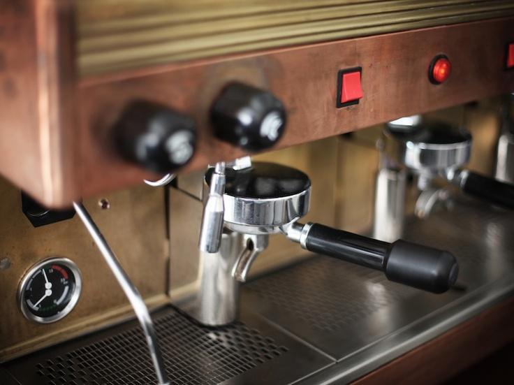 Coffee Machine at Clarkes