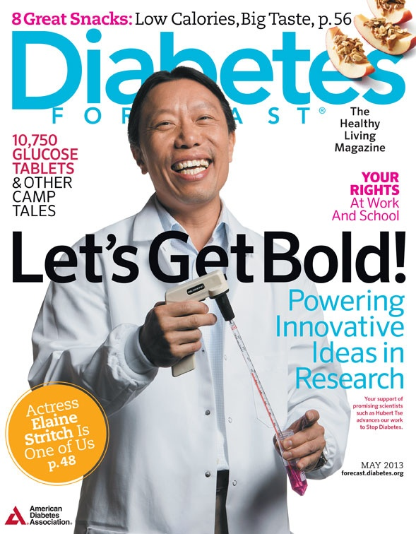 May 2013 issue of Diabetes Forecast, the Healthy Living Magazine!
