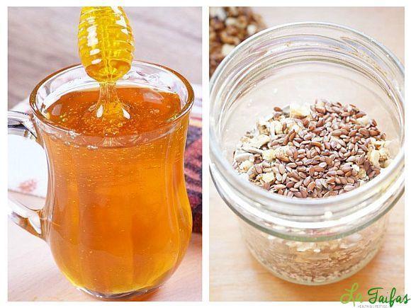 seminte de in cu miere si lamaie