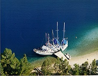 Meganissi, picturesque and tranquil, this is a tiny gem in the Ionian sea.