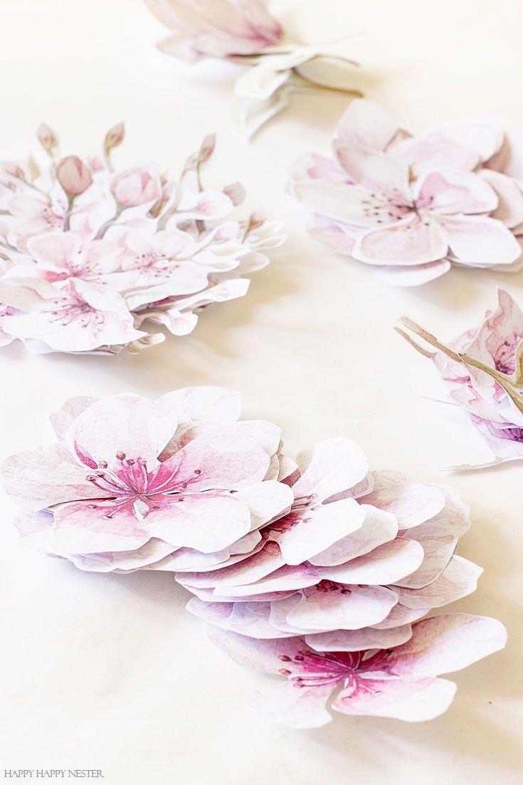 How To Make A Paper Flower Wreath Diy Happy Happy Nester Paper Flower Wreaths Paper Flowers Paper Wreath Diy