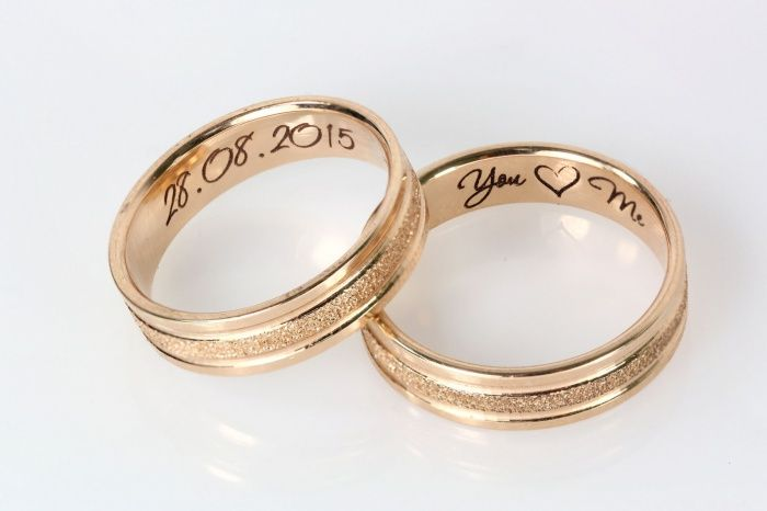 Гравировка колец: дата свадьбы, имена молодых и символ любви. #TimeOfDiamonds #engraving   http://zoloto.com.ua/engraving