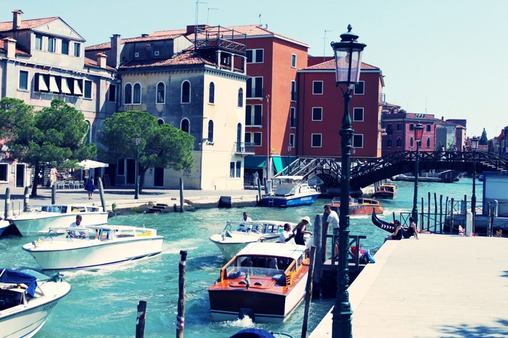 Sending postcards from Venice
