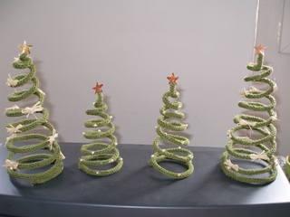 Christmas tricotin