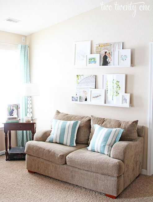 living room picture ledges picture ledge discover more. Black Bedroom Furniture Sets. Home Design Ideas