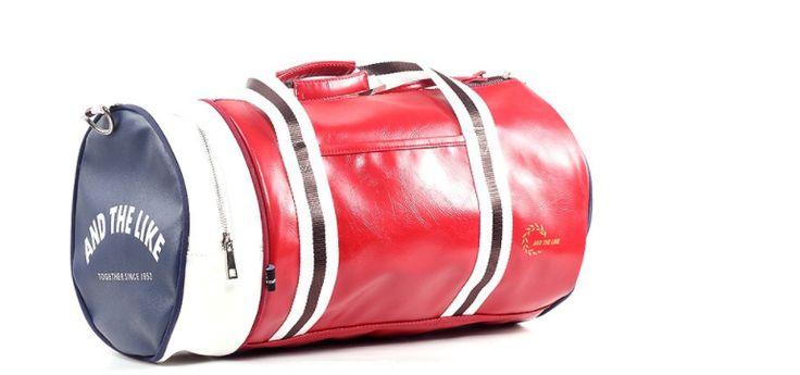 Esperance Large Red High Quality Sport Gym Holdall Bag