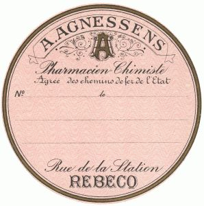 French Pharmacy Seal